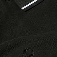 Fred Perry Polo Shirt- Hunting Green Black Oxford (Sale price!)