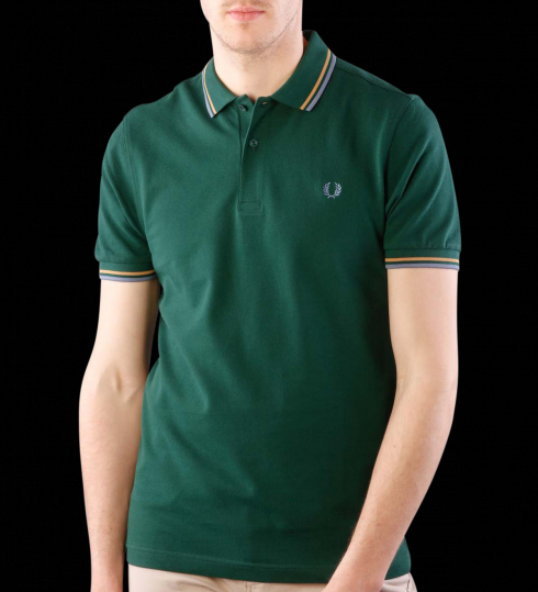 fred perry polo shirt ivy gold lake. Black Bedroom Furniture Sets. Home Design Ideas