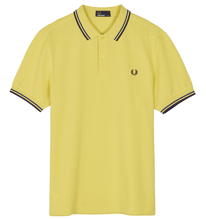 Fred Perry Polo Shirt- Chartreuse