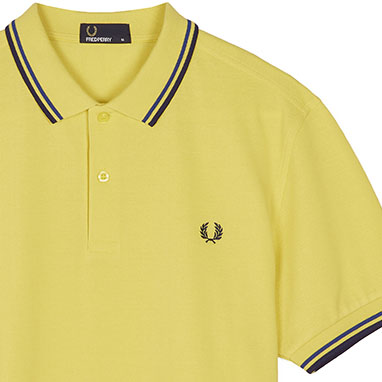 Fred Perry Polo Shirt- Chartreuse - SALE sz M only