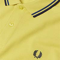 Fred Perry Polo Shirt- Chartreuse (Sale price!)