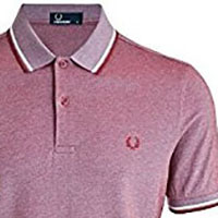 Fred Perry Polo Shirt- Claret (Sale price!)