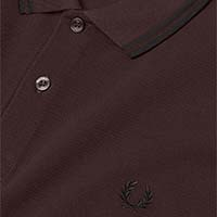 Fred Perry Polo Shirt- Liquorice/Black (Sale price!)