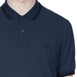 Fred Perry Polo Shirt- Deep Night
