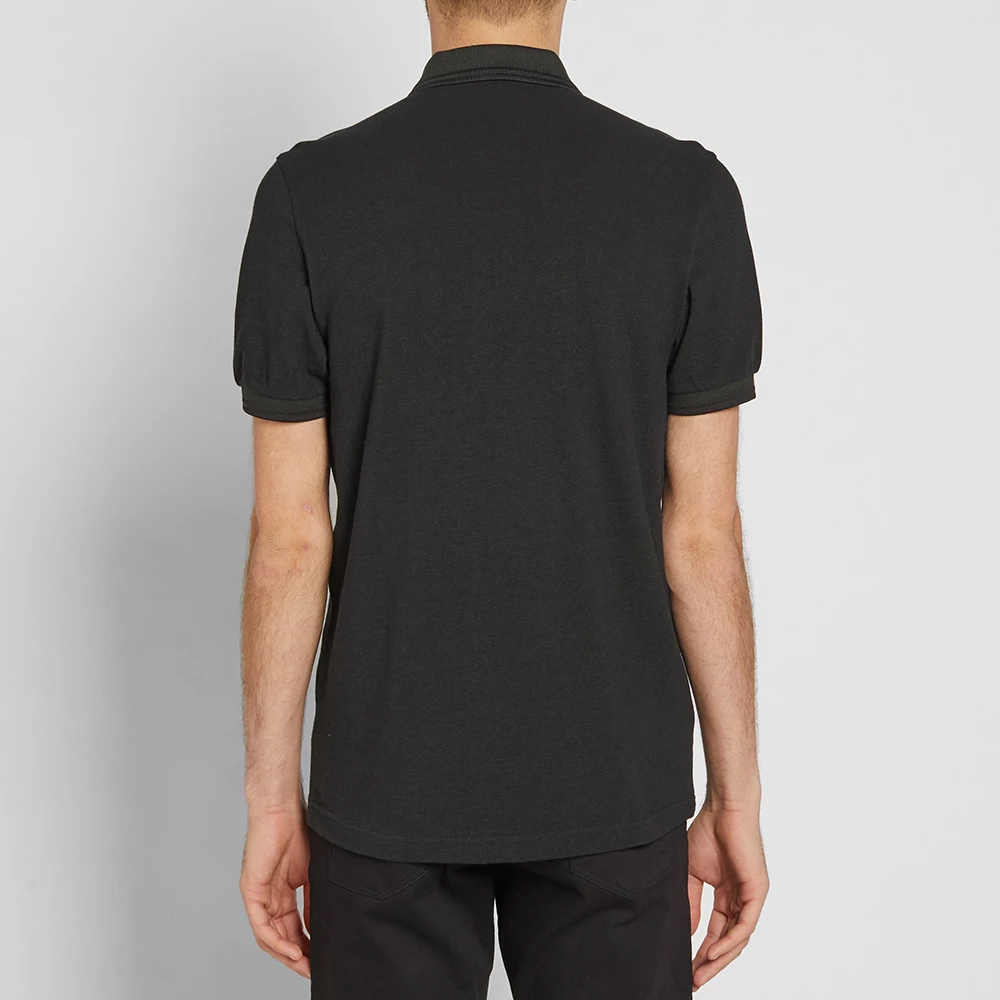 76002ff5 Fred Perry Polo Shirt- Hunter Green / Black Oxford