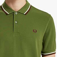 Fred Perry Polo Shirt- Cypress