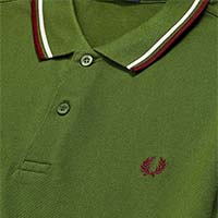 Fred Perry Polo Shirt- Cypress (Sale price!)