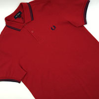 Fred Perry Polo Shirt- Siren / Midnight Blue (Sale price!)