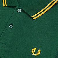 Fred Perry Polo Shirt- Ivy / Gold