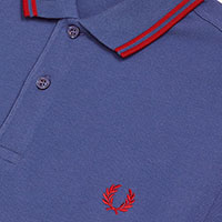 Fred Perry Polo Shirt- Midnight Blue / Siren (Sale price!)