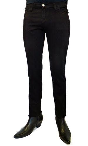 Cavern 59 Mod Drainpipe Jeans from Madcap England  - in black