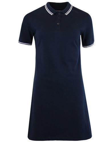 Rockferry Twin Tipped Mod A Line Pique Polo Dress by Madcap England