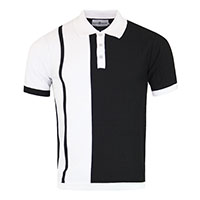 Capone Ska Two Tone Polo by Madcap England - SALE sz 42/XL only