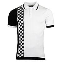Maytal Ska Check Stripe Polo by Madcap England - SALE
