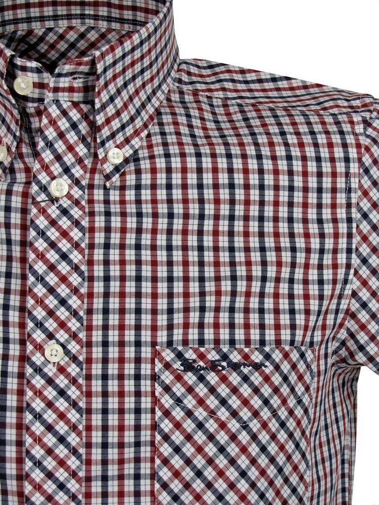 Ben Sherman House Check Long Sleeve Shirt (Sale price!)