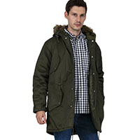 Fishtail Parka by Relco London- OLIVE