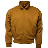 Harrington Jacket by Relco London- MUSTARD