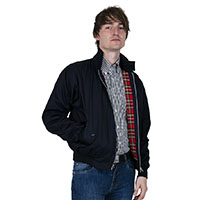 Harrington Jacket by Relco London- NAVY