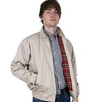 Harrington Jacket by Relco London- STONE