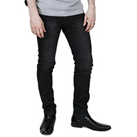 Skinny & Stretch Jeans by Relco London- Sandblast Black