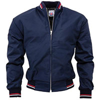 Monkey Jacket by Relco London- NAVY (Made In England)