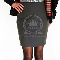 Tonic Skirt by Relco London- Green