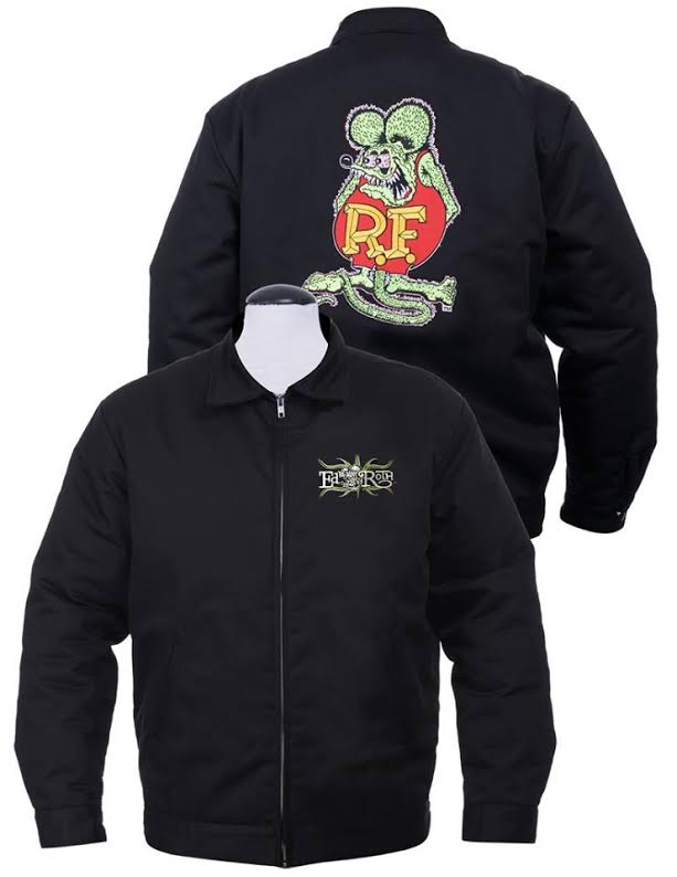 Rat Fink Icon Lined Chino Jacket by Steady Clothing - SALE