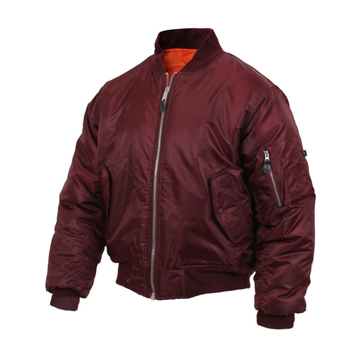 MA-1 Flight Jacket by Rothco- MAROON