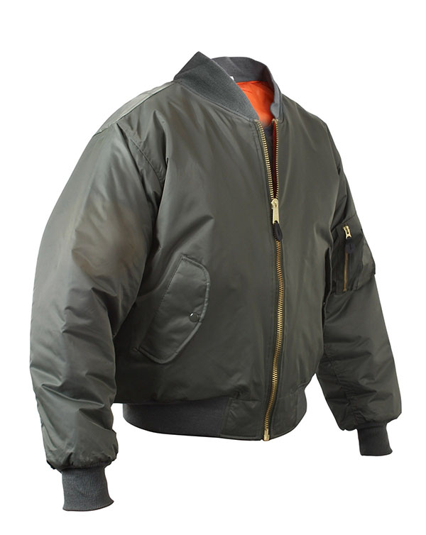 MA-1 Flight Jacket by Rothco- SAGE GREEN
