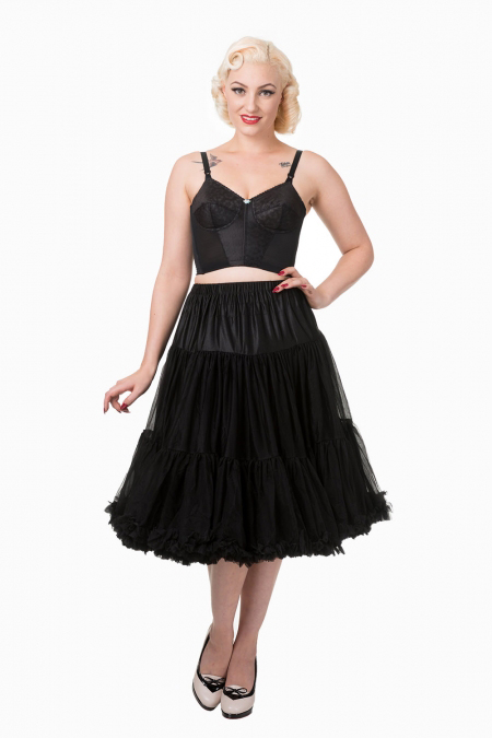 "Black 26"" Petticoat by Banned Apparel - SALE sz M/L only"