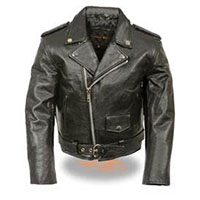 Kids Motorcycle Jacket by Milwaukee Leather- Black