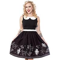 So Cute It's Spooky Shift Dress by Sourpuss - SALE sz S only
