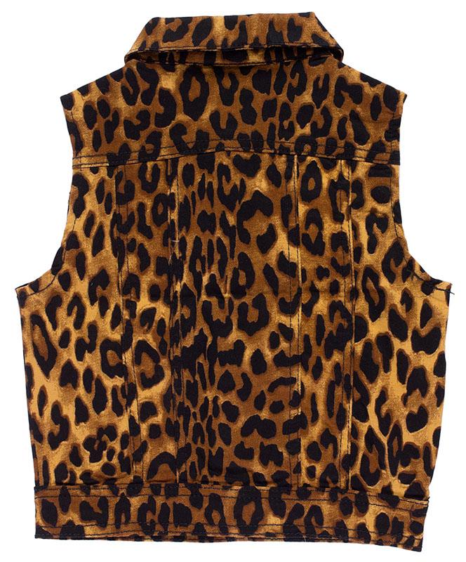 553826d77 Kids Essential Vest by Sourpuss - Leopard - SALE