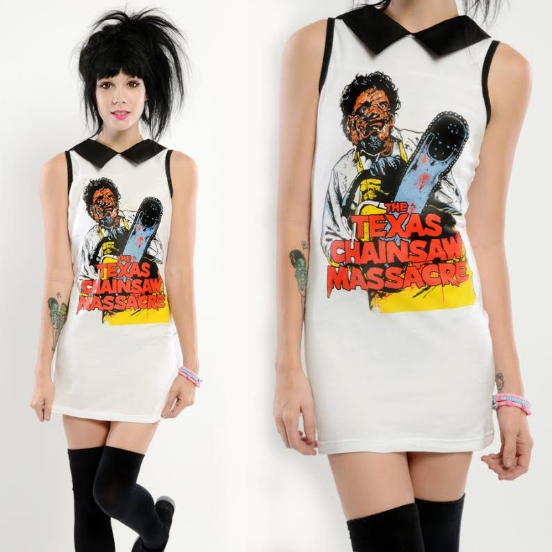 Texas Chainsaw Massacre Collar Dress by Vera's Eye Candy
