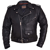 Premium Naked Cowhide Motorcycle Jacket by Unik Leather