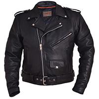 Premium Naked Cowhide Motorcycle Jacket by Unik Leather