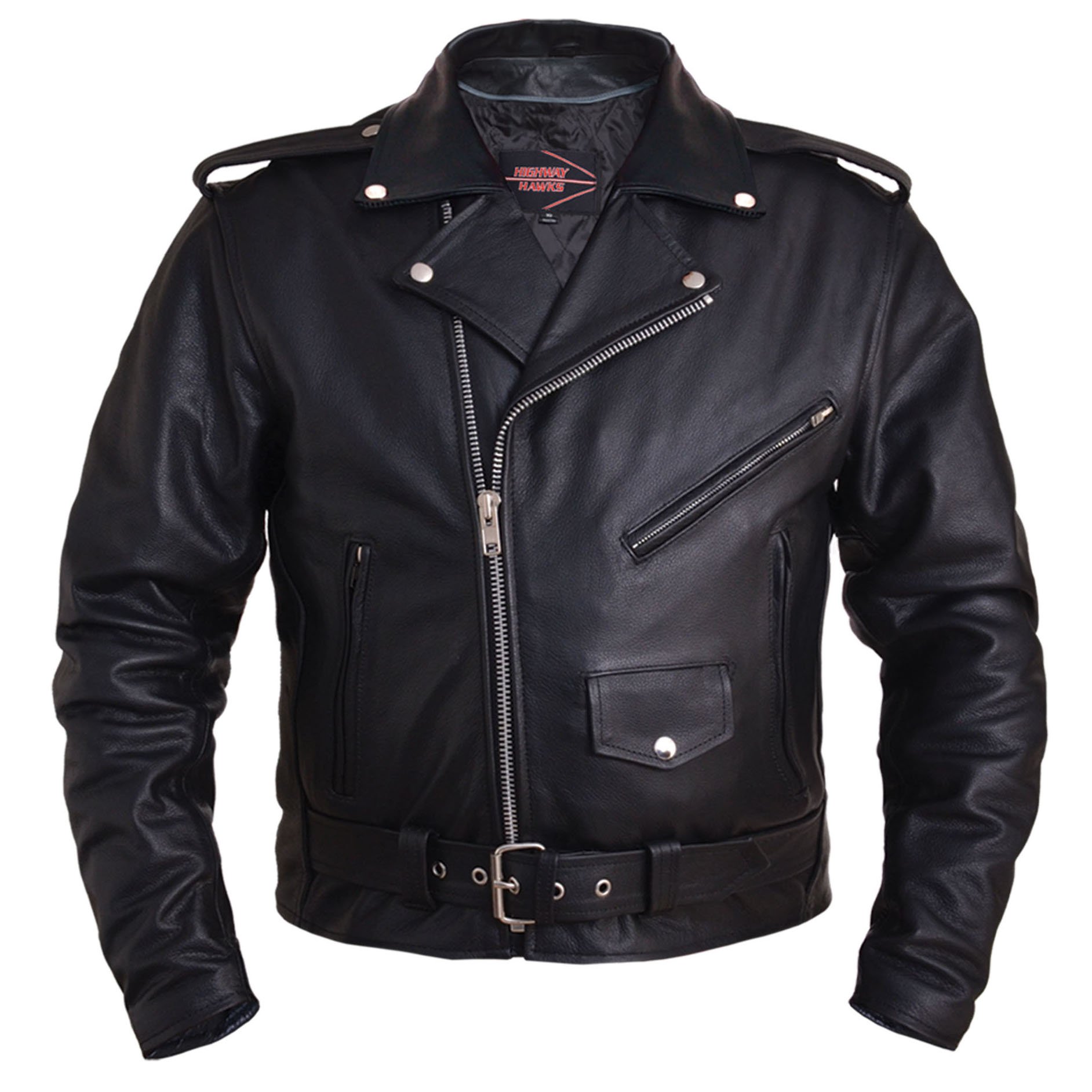 Classic Motorcycle Jacket by Highway Hawks