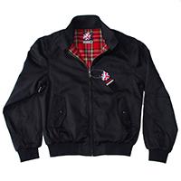 Harrington Premier Jacket by Warrior Clothing- BLACK