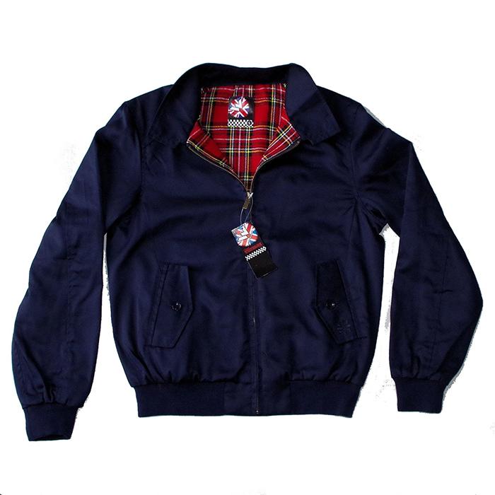 Prestige Harrington Jacket by Warrior Clothing- NAVY