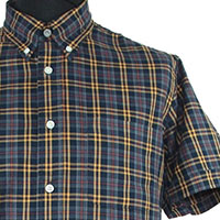 Vintage Button Down Shirt by Warrior Clothing- BILLY HUNT