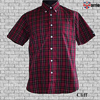 Vintage Button Down Shirt by Warrior Clothing- Cliff
