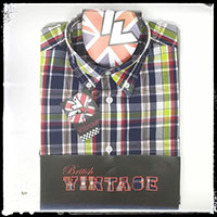 Vintage Button Down Shirt by Warrior Clothing- Craig