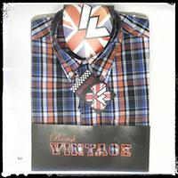 Vintage Button Down Shirt by Warrior Clothing- Dekker