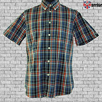 Vintage Button Down Shirt by Warrior Clothing- Dekker