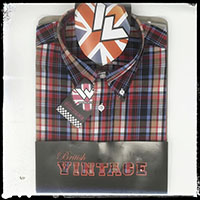 Vintage Button Down Shirt by Warrior Clothing- IDOL sz M only