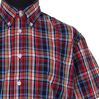 Vintage Button Down Shirt by Warrior Clothing- IDOL