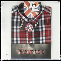 Vintage Button Down Shirt by Warrior Clothing- JONES