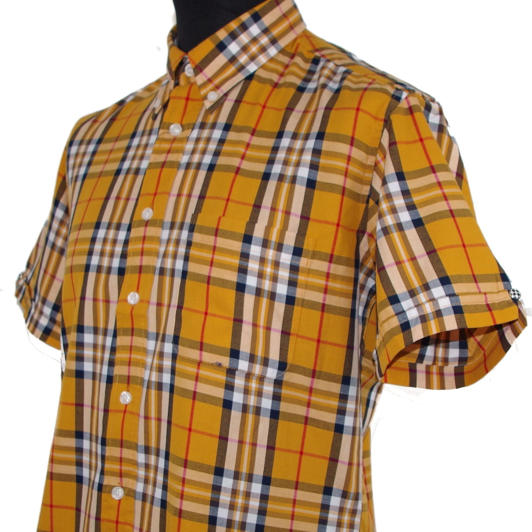 Vintage Button Down Shirt by Warrior Clothing- Lydon