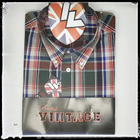 Vintage Button Down Shirt by Warrior Clothing- Maytone