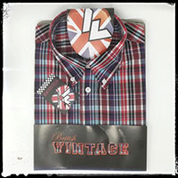 Vintage Button Down Shirt by Warrior Clothing- Morwell